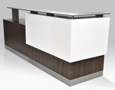 Arnold Reception Desks, Inc. - Contemporary Reception Desk: DIAMONTE