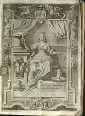 The iconography of Justitia/Justice. (Yale Law Library via Flickr.com)