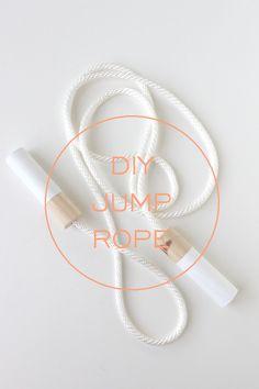 DIY: Wooden Jump Rope