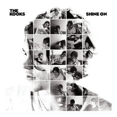 The Kooks Shine On Cover: Really neat way to create a collage with some impact