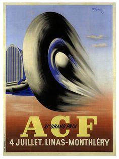 Automobile Club de France, 31st Grand Prix, 1937. Raymond Savignac