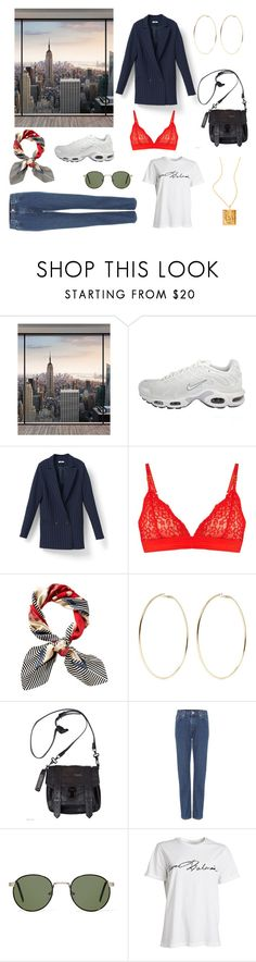 """""""Untitled #95"""" by oliviastaffeldt ❤ liked on Polyvore featuring Wall Pops!, NIKE, STELLA McCARTNEY, Juicy Couture, Kenneth Jay Lane, Proenza Schouler, Wood Wood and A.J. Morgan"""