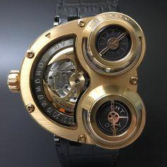 MB&F HM3 Sidewinder Rose Gold