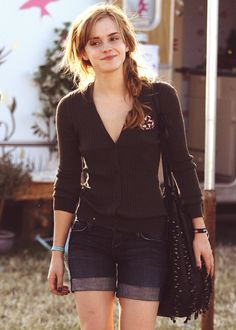 Emma Watson :) cute outfit but simple