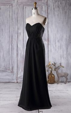 A-line Floor-length Strapped Backless Chiffon Lace Dress f67f923ce1e4