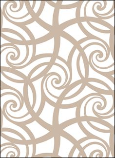 Click to see the actual VN32 - Swirls stencil design.