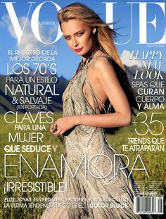 Estonian model Tiiu Kuik is the cover star of the fashion magazine Vogue Argentina for the August 2011 issue.