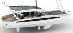 Un catamaran électro-solaire