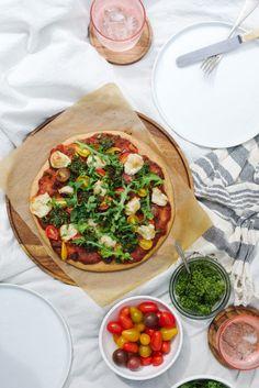 Quinoa-Pizza-Margarita