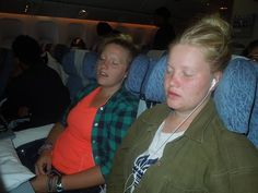 How to sleep on a plane.  Adventures in Missions www.adventures.org The World Race www.worldrace.org