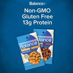 Have you tried Balance Bites - the perfectly poppable, on-the-go snack that's gluten-free and packed with 40-30-30 nutrition? The only question is…Chocolate or Peanut Butter? Try them today!
