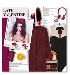"""""""OUR VALENTINE"""" by defivirda ❤ liked on Polyvore featuring Abercrombie & Fitch, Fleur du Mal, Valentino, Giambattista Valli, Dolce&Gabbana, women's clothing, women, female, woman and misses"""