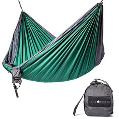 ultra durable camping double hammock with hanging straps  green castaway hammocks by pawleys island   patio furniture   pinterest      rh   pinterest