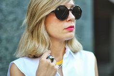 My Showroom Blog: Retro Fashion Round Circle Steampunk Fashion Sunglasses 8935