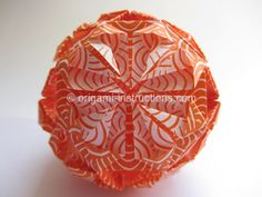 origami kusudama ball instructions - Google Search