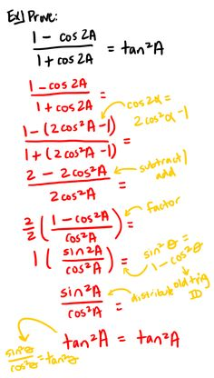 Trig Identities Precalculus, Math Problem Solving, Math School, Circuits, Future Classroom, Teaching Math, Teacher Stuff, Geometry, Physics