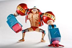 One Piece Action Figure - after 2 years -Franky by ChazMing, via Flickr