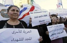 """أنباء حول الإفراج عن الآشوريين و""""داعش"""" يعلن شرق الحسكة منطقة عسكرية http://democraticac.de/?p=10378 News about the release of the Assyrians and """"Daash"""" declares eastern Hasaka military zone"""