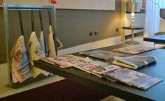 Prima o dopo il caffè del mattino al DBHotel le notizie sono sempre a disposizione, i nostri spazi sono ideali per la lettura. Ogni giorno una selezione di quotidiani e periodici sono a disposizione degli ospite nella nostra hall.