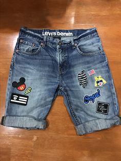 Kapriler Teen Pants, Kids Pants, Kids Shorts, Baby Jeans, Denim Jeans Men, Denim Shorts, Nice Casual Outfits For Men, Boys Cargo Shorts, Toddler Fashion