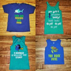 Family nemo shirts for disney world my crafts, creations, an