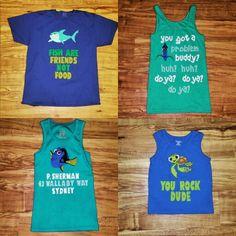 Family nemo shirts for disney world
