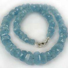 SKJ ancient bead art | aquamarine - Beaded jewelry #art #artios #homeschool