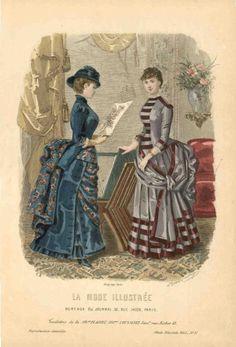 La mode illustree 1883 - Plate 37