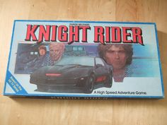 Vintage Knight Rider Parker Brothers Board Game by bishopbrand, $14.99
