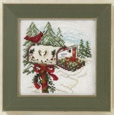 Holiday Delivery - Mill Hill Counted Cross Stitch Kit