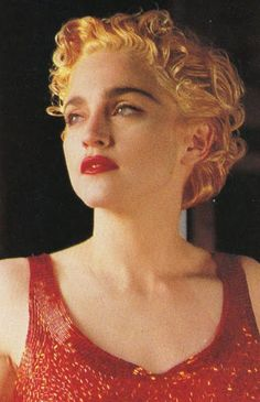 Madonna photographed by Helmut Newton in 1990.