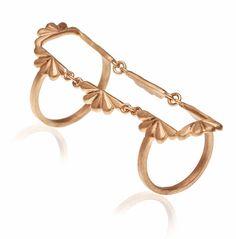#ring #jewellerydesign #jewel #AJMIG #goldplatted #maggoosh