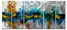 Spectral Fusion Modern Wall Panels