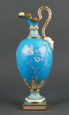 Minton Patê-sur-patê Porcelain Ewer