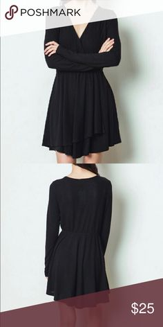 FLASH SALE TODAY ONLY Black Knit Dress Black Knit Dress. Made of 100% Polyester. loveriche Dresses