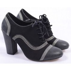 Pantofi de Dama Oxford Color Black Oxford Shoes, Women, Fashion, Moda, Fashion Styles, Fashion Illustrations, Woman