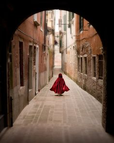 little red riding hood, fairytale in Venice, warm tone - Little Red Cloak on Etsy, $21.52 AUD