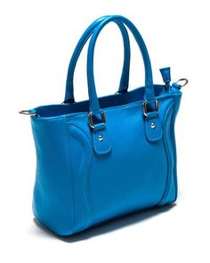 Sonia Ricci Pebble Genuine Leather Shoulder Bag Made In Italy