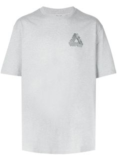Palace T-shirt - Grey 3d T Shirts, Size Clothing, Palace, Street Wear, Women Wear, Short Sleeves, Stockings, Mens Fashion, Grey