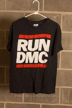 1987 Run DMC Raising Hell Tour Tshirt  RARE by VintageReveries, $249.00