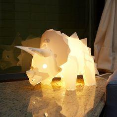 Triceratops  l トリケラトプス - 楽しみながらDIYで作る組み立て式恐竜ランプセット by Brando
