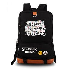 Mochila Stranger Things Backpack Women's Bag Men's Laptop Backpack School Bags Teenagers Boys 's Backpack Travel Bags Color 1 Stranger Things Aesthetic, Stranger Things Season 3, Stranger Things Funny, Stranger Things Netflix, Stranger Things Items, Backpack Travel Bag, Laptop Backpack, Travel Bags, Women's Backpack