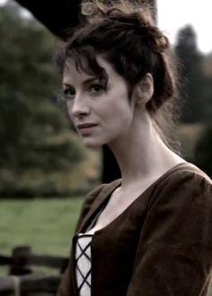 Caitriona Balfe as Claire on Starz's Outlander
