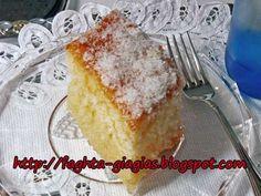 Cake Recipes, Dessert Recipes, Desserts, Greek Pastries, Pastry Cake, Greek Recipes, No Bake Cake, Vanilla Cake, French Toast