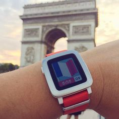 Pebble Time Smart Watch Series Introduces New Voice And Text Replies For iOS  ... see more at InventorSpot.com