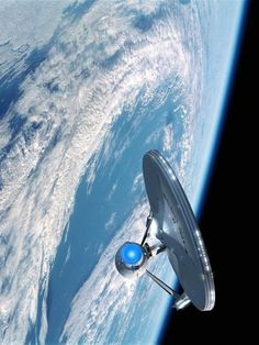 """To boldly go where no one has gone before."" Star Trek first aired in 1966. Engage! NASA is developing warp drive propulsion tech,inspired by Star Trek"