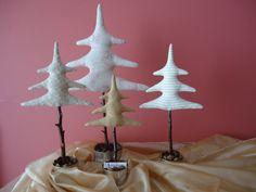 Árvores para decorar <3 https://www.facebook.com/pages/A-Fada-Rosarinho/156591247695850