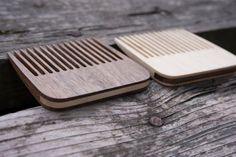 Set of 2 Beard Combs, Beard Combs, Wooden Combs, Pocket Combs, walnut tree comb, men's comb, ash tree comb, wooden beard comb, handcrafted