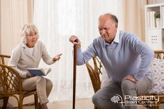 More than 90%  of elderly individuals have a chronic condition such as diabetes or arthritis which can increase the risk of a dangerous fall and result in a concussion or brain injury. Plasticitybraincenters.com #PlasticityBrainCenters #Neuroplasticity #FunctionalNeurology #TheFall #TBI #BrainInjury