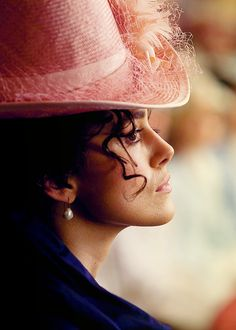 "Keira Knightley as ""Anna Karenina"" (2012)  Gorgeous hat. Academy Award winning costumes by Jacqueline Durran."